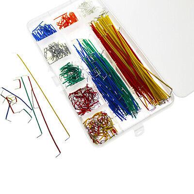 140 Pcs U Shape Solderless Breadboard Jumper Cable Wire Kit For Bread Board Us