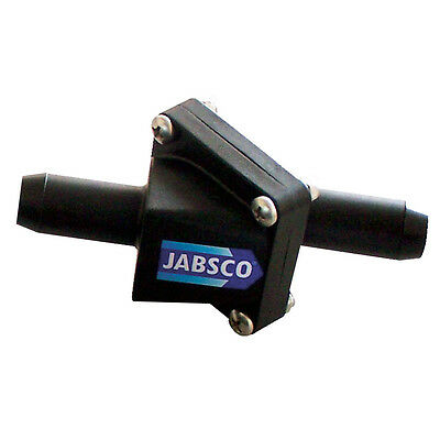 Jabsco In-Line One-Way Non-Return Check Valve - 3/4