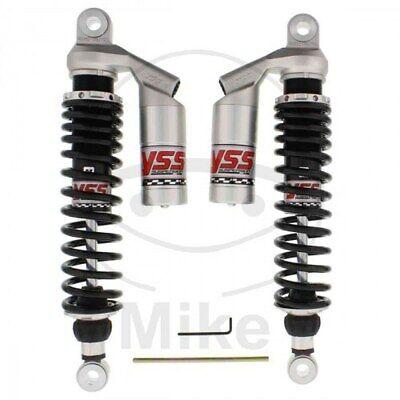 Pair Shock Absorbers Rear Adjustable YSS Lever Triumph Bonneville 800