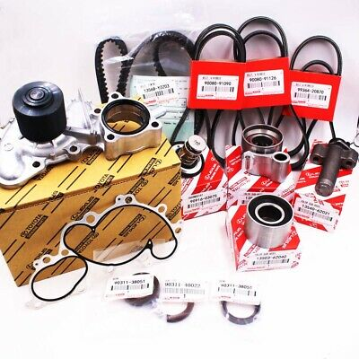 For Toyota 3.4L V6 Engine Water Pump &Timing Belt Kit Tacoma Tundra 4Runner T100 1999 2000 Toyota Tacoma Engine