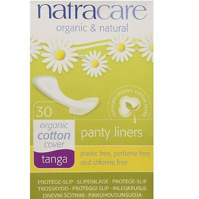 Natracare Natural Organic Thong Style Panty Liners 30 Ea ...