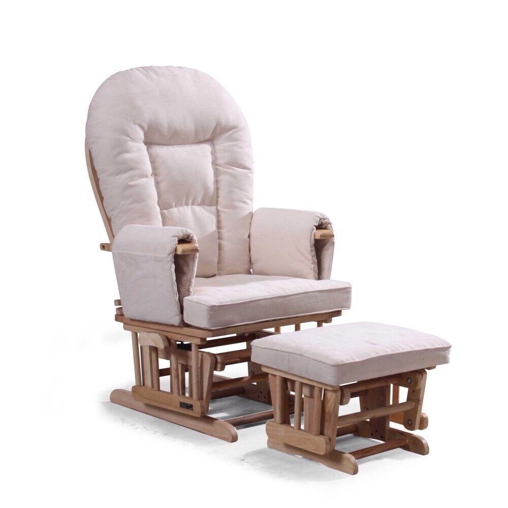 Gliding Nursing chair & Footstool