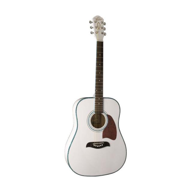 oscar schmidt dreadnought og2wh acoustic guitar ebay. Black Bedroom Furniture Sets. Home Design Ideas