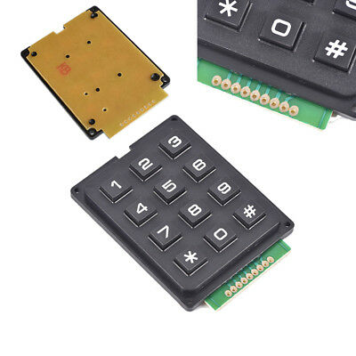 12 Key 4x3 Array Membrane Switch Keyboard Matrix Switch Keypad