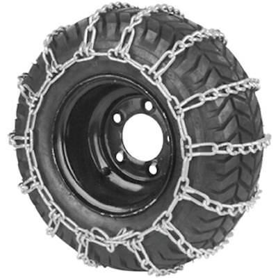 New Stens 180-128 2 Link Tire Chains 20x8-8 / 20x8-10 Wheel Snow Mud Lawn Mower - Mower Tire Chains