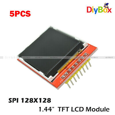 5pcs 128x128 1.44 Red Serial Spi Color Tft Lcd Module Replace Nokia 5110 Lcd