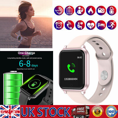 Women's Lady Waterpoof Smart Watch Phone Mate For Android iPhone Samsung iOS UK