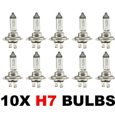 10 x Brand New H7 499 HEADLAMP HEADLIGHT CAR BULBS 12v 55w (2 PIN) 477