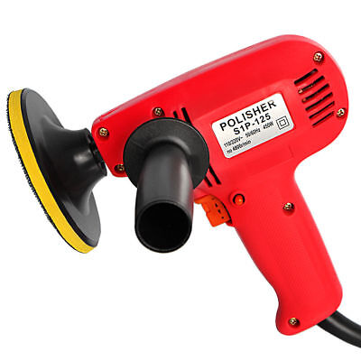 """New 5"""" Electric Car Polisher Detail Waxer Buffer Sander Variable Speed Boat Home"""