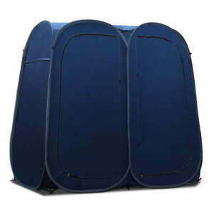 Portable Double Changing Room Shower Tent