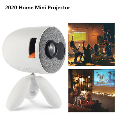 4K 1080P HD Projector 3D LED HDMI USB Video Mini Portable Home Theatre Cinema US