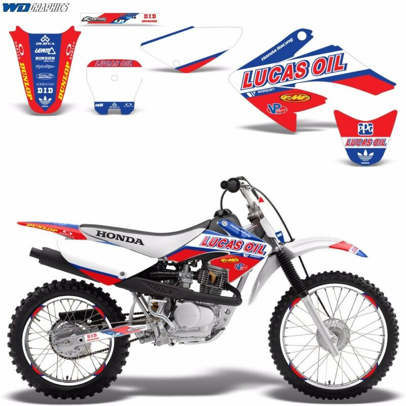Decal Graphic Kit Honda CRF 70/80/100 CRF80 MX Bike Wrap w/Backgrounds  CRF70 LO $79.95. Las Vegas,NV,USA