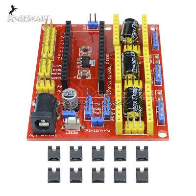 Engraving Machine Cnc Shield V4 Stepper Motor Driver For Arduino Grbl