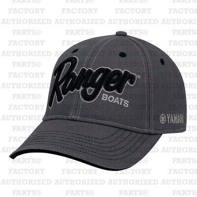 a940abba101be RANGER BASS BOATS YAMAHA CHARCOAL CAP R18A-H559 BASS FISHING HATS