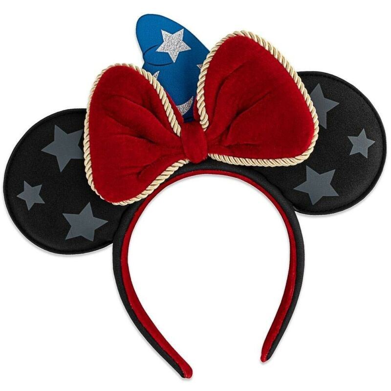 Loungefly x Disney Fantasia Sorcerer Mickey Mouse Ears Headband