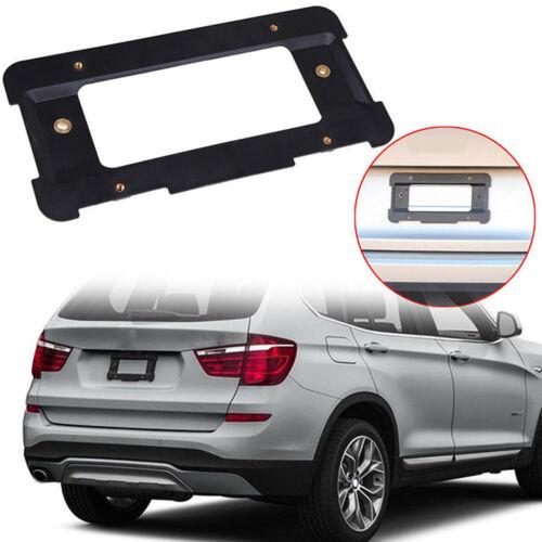 Rear License Plate Frame Black Bracket Mount Holder for BMW 1 2 3 4 ...