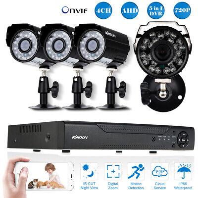 4CH 1080P WIFI Video ÜberwachungsKamera NVR Mit 4PCS 720P IR außen Kamera W6U2 (Wifi Video überwachungskamera)