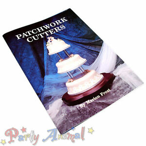 Patchwork-Cutters-Instruction-BOOKS-by-Marion-Frost-Sugarcraft-Cake-Decorating
