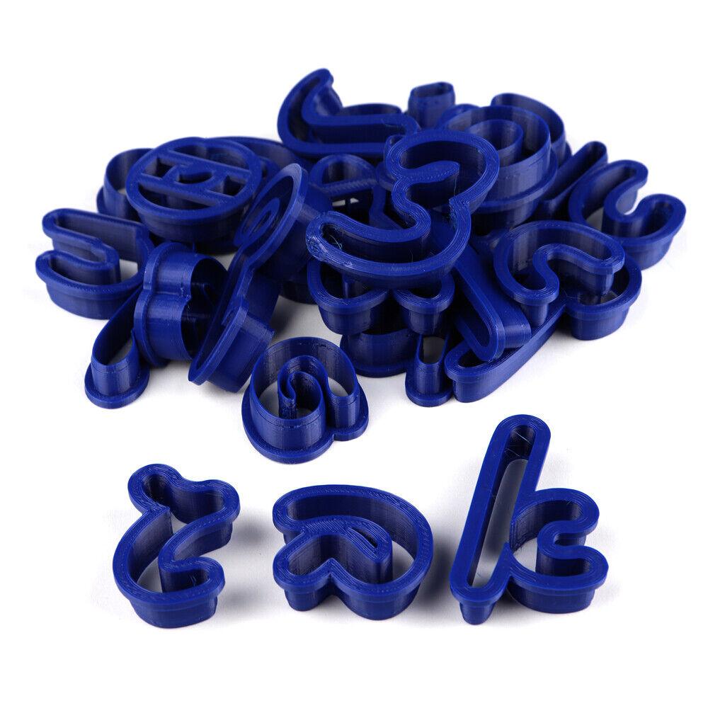 Au Bon Cake Hebrew Script Font Letter Cutter Set | eBay