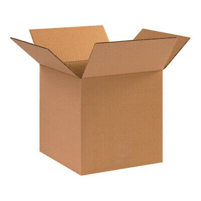 12x12x12 25pk Corrugated Shipping Boxes