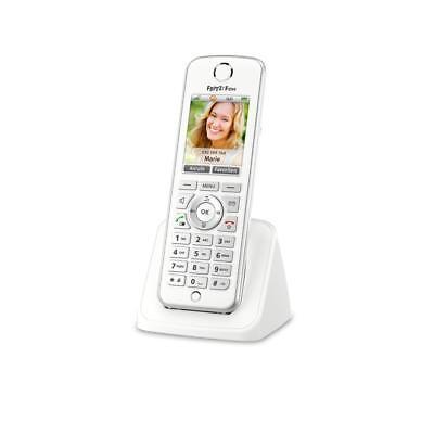 AVM FRITZ!Fon C4 VoIP Telefon Farbdisplay weiß HD UPnP beleuchtete Tastatur
