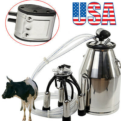 Milk Bucket 304 Stainless Steel Cow Milker Dairy Cow Milking Equipment Quality
