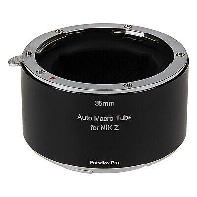 Fotodiox Pro Automatic Macro ExtensionTube 35mm Section for Nikon Z-Mount Camera Nikon Macro Extension Tube