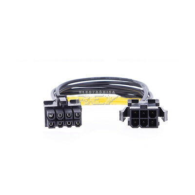 Cable Adaptador Conector PCI-E (8-pin) a PCI-E (6-pin) Macho / Hembra v538