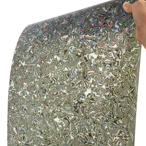 "16"" x 60"" Drum Wrap 0.50mm Musical Instrument Deco Sheet Abalone Seashell"