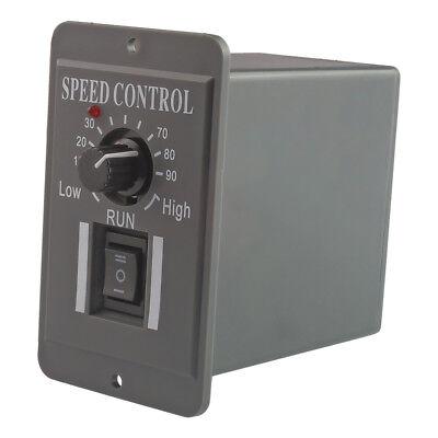 Dc 12v 24v 36v 48v Pwm Motor Speed Controller Reversible Switch 6a Regulator
