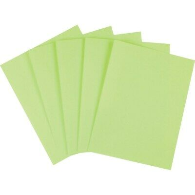 Staples Brights Colored Paper 8 12 X 11 Green Ream 490879