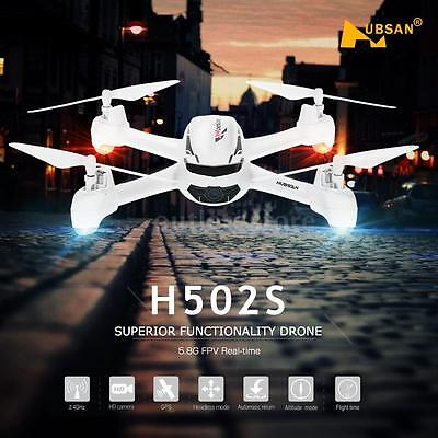Hubsan H502S 5.8G FPV 720P HD Camera Drone RC Quadcopter with GPS Succeed Me
