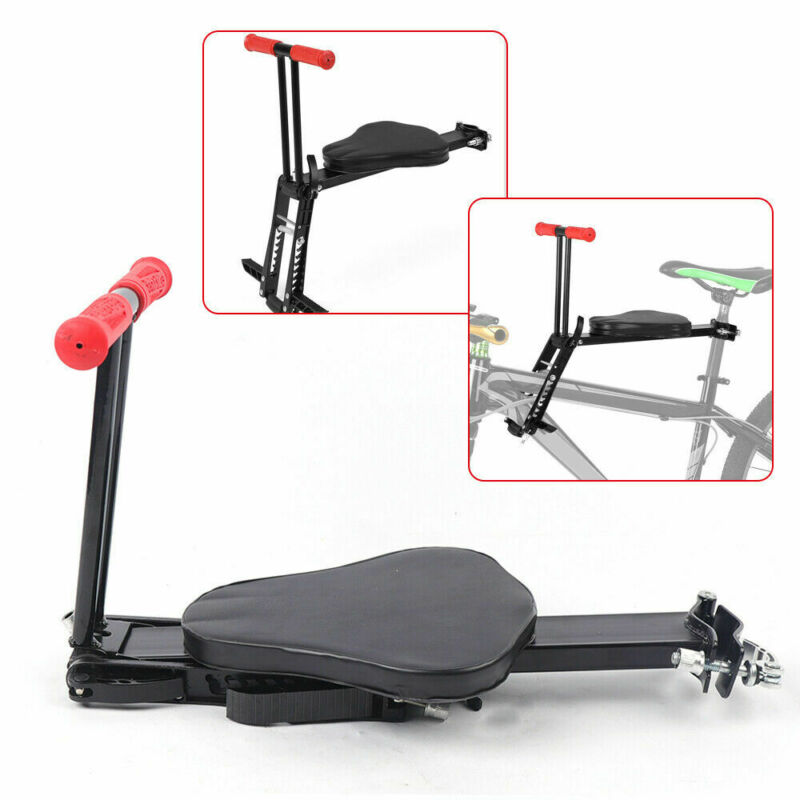 Child Bicycle Seat Baby Bike Saddle Foldable Safety Front Chair Mount Carrier US