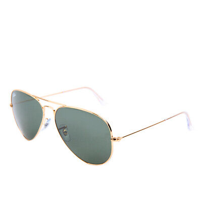 Ray-Ban Aviator Large RB3025 L0205 58 Gold Green Sonnenbrille