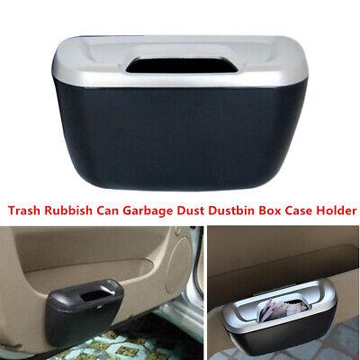 1x Car Trash Rubbish Can Garbage Dust Dustbin Box Case Holder Bin Hook - A1 Trash