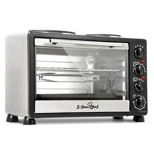 SALE:  34L Benchtop Convection Oven with Twin Hot Plate Melbourne CBD Melbourne City Preview