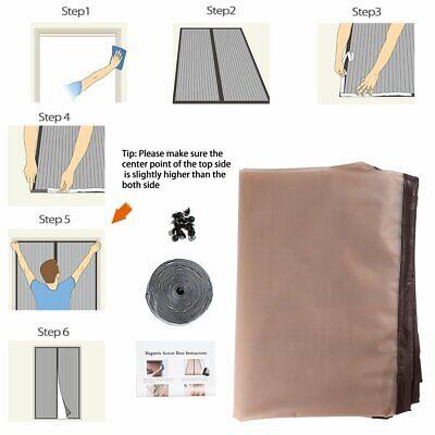 IKSTAR EVA Thermal Magnetic Plastic Door Curtain Fits up to 34