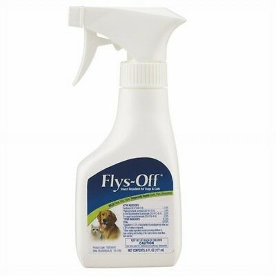 Flys-Off Insect Repellent Spray 6 oz | For Dogs and Cats | Kill Fleas/Lice/Ticks