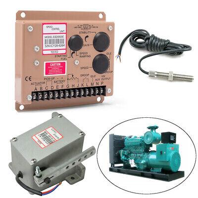 Lternator Generator Governor Actuator Adc120-12vesd5500e Msp6729 Speed Control