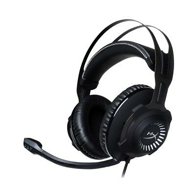HyperX - Cloud Revolver S Wired Dolby 7.1 Gaming Headset for PC, Mac, (Hyperx Cloud Revolver Gaming Headset For Pc)