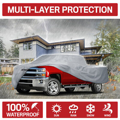 Motor Trend Pickup Truck Cover Waterproof for Toyota Tundra CrewMax Cab 07-18