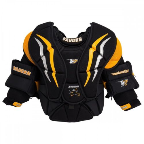 New Vaughn V7 XF INT Intermediate Small hockey goalie chest & arm protector SM