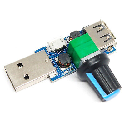 Usb Fan Governor Wind Speed Controller Regulator Cooling Mute Switch Module