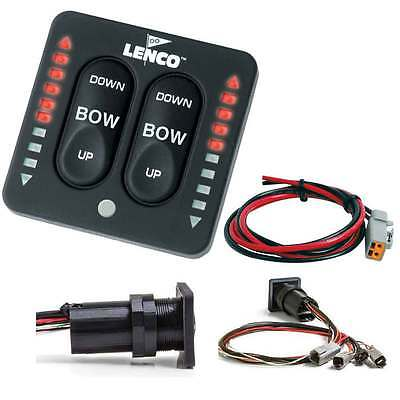 - Lenco LED Indicator Integrated Tactile Switch Kit Single Actuator 15170-001