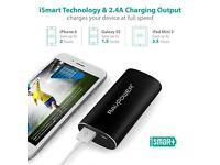 Portable Charger 6700mAh Power Bank External Battery Pack 2.4A Output 2A Input NEW