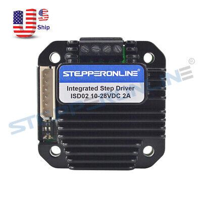 Integrated Stepper Motor Driver 0-2a 10-28vdc For Nema 8111417 Stepper Motor