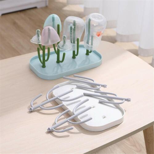 Baby Bottle Drying Rack, Bottle Drying Rack with Tray, Bottle Dryer Holder