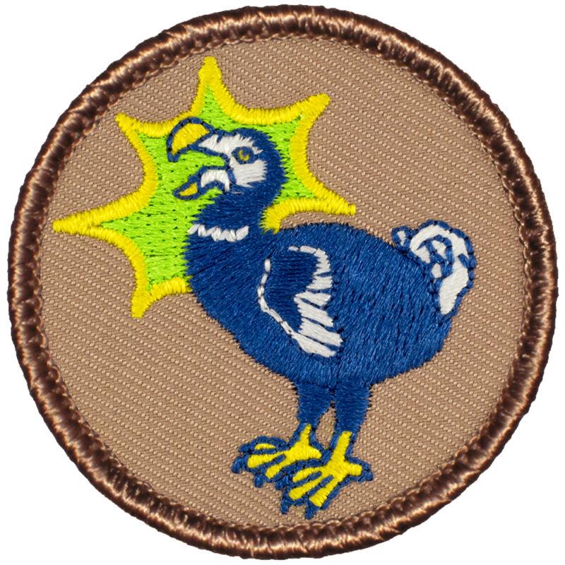 Funny Boy Scout Patrol Patch! - #722 The Dodo Bird Patrol!