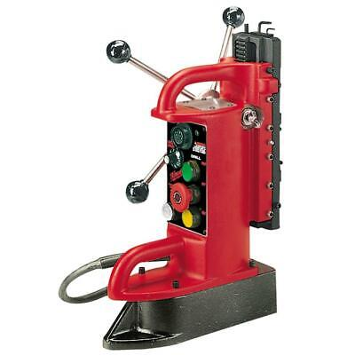 Milwaukee Electro-magnetic Fixed Position Drill Press Base With 9 In. Drill