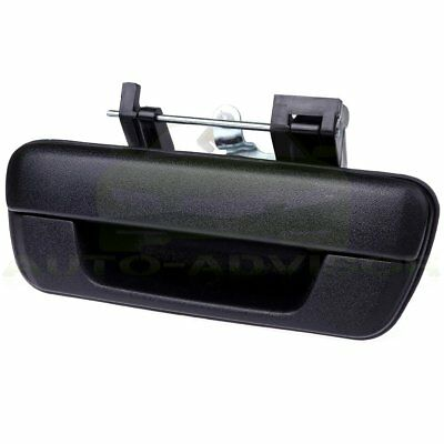 Tailgate Handle w/o Lock Provision Black for 04-12 Chevy Colorado GMC Canyon